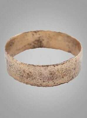 Vintage Antique Ancient Wedding band Viking Ring C.866-1067AD. Size 6 1/2   (16.