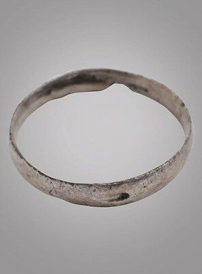 Ancient Viking Womans Wedding Band, Jewelry C.866-1067A.D. Size 4 1/2  (15mm)(Br