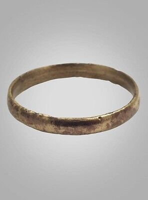 Ancient Viking Mans  Wedding Band Jewelry C.866-1067A.D. Size10 1/2 (20.2mm)(Brr