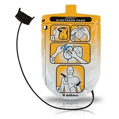 DefibTech  DDP-100 Adult Electrode Pads for use with DDU-100 LifeLine AED