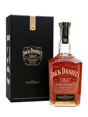 Jack Daniels 150th Anniversary Tennessee Whiskey 1000ml 50%