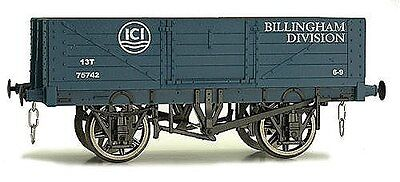 "Dapol 7F-051-023, Scartamento O , 5-assi vagone ""ICE Lime "" in blue"