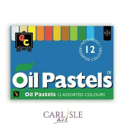 Educational Colours Oil Pastels 12pk