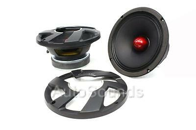 "PIONEER TS-M800PRO 8/"" PRO SERIES HIGH EFFICIENCY MID-BASS CAR SPEAKERS DRIVERS"