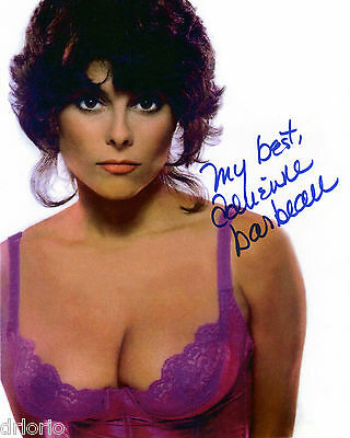REPRINT - ADRIENNE BARBEAU 2 autographed signed photo