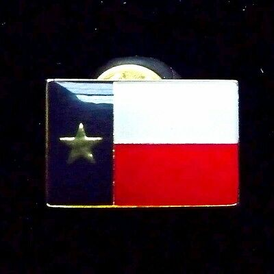 Lone Star Flag of Texas State Lapel Vest Hat Pin Pinback