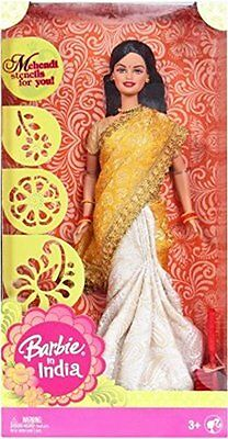 Barbie in India Sari series