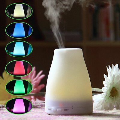 1.3L Ultrasonic Home Aroma Humidifier Air Diffuser Purifier Lonizer Atomizers