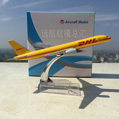 1/400 DHL Express Delievery Aircraft Boeing 757-200 B757 Alloy Airline Model