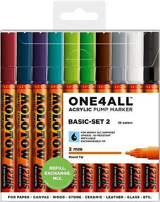 Molotow - One4All Acrylic Marker 127 Hs Basic-Set 2