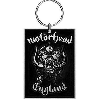Official Licensed - Motorhead - England Keychain Metal Keyring Lemmy