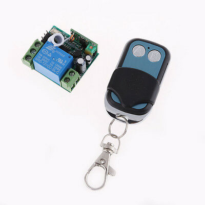 12V 2 Channel Wireless RF Remote Control Controller Switch Transmitter+ Receiver