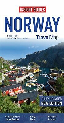 Insight Travel Map: Norway (Insight Travel Maps), , New Book