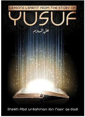 Lesson learnt from the story of Yusuf (AS) (PB)