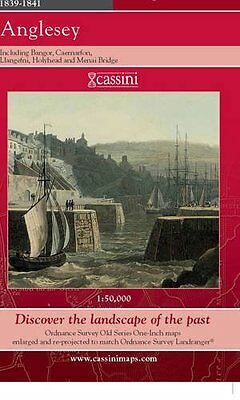 Anglesey (Cassini Old Series Historical Map), , New Book