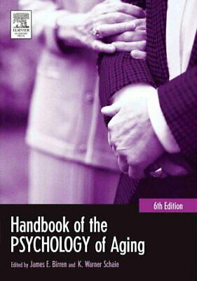 Handbook of the Psychology of Aging (Handbooks of Aging), , New Book