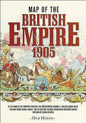 Map of the British Empire, 1905 (Old House Projects), Methuen, Algernon, New Boo