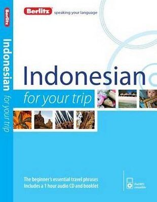 Berlitz Language: Indonesian For Your Trip (Berlitz For Your Trip), Berlitz, New