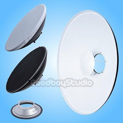 55cm 22'' White Honeycomb Beauty Dish Broncolor-B Mount (Speedring Changeable)
