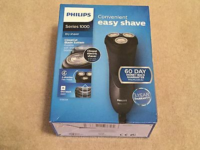 Philips Shaver Series 1000 / S1100/04 Close Cut Dry Electric Shaver