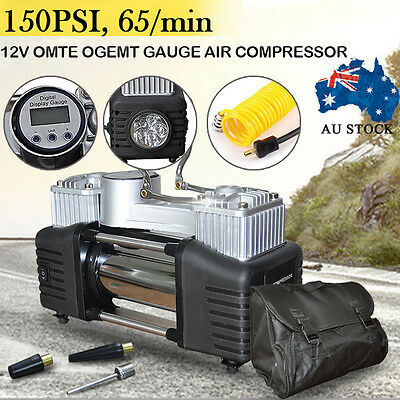 150PSI 12V New Automatic Digital Air Compressor Car Tyre Inflator Kit Portable