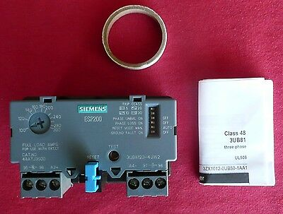 Siemens ESP200 48ATJ3S00 Solid state overload relay 3UB8123-4JW2, 4011209724839