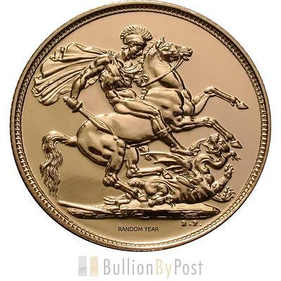 5 x Gold Sovereign Best Value Gold Coin