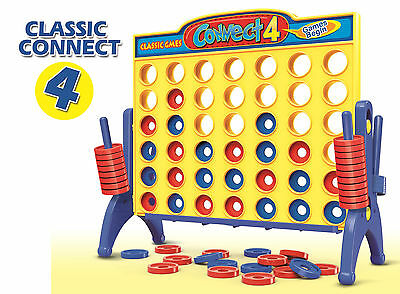 Connect 4 Classic Grid Board Games