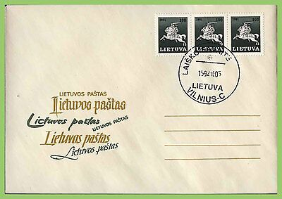 Lithuania 1992 u/a Lithuania Post Cover