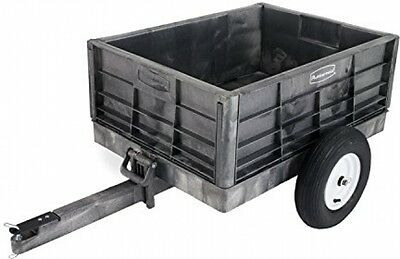 Tractor Cart Rubbermaid Commercial garden yard  Unassembled Structural Foam ,