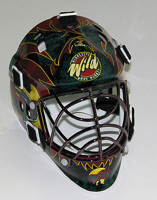 Minnesota Wild Franklin Sports Collectible Mini Goalie Mask - NIB