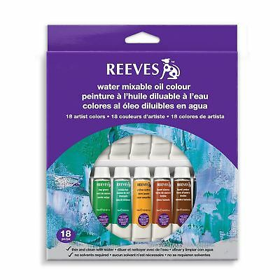 Reeves Water Mix Oil Sets