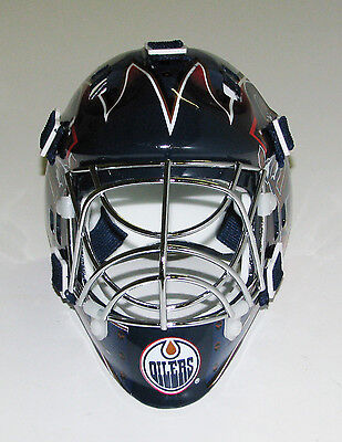 Edmonton Oilers Franklin Sports Collectible Mini Goalie Mask - NIB