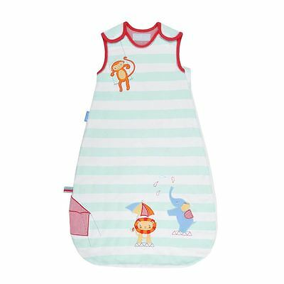 The Gro Company Sleepy Circus Baby Grobag Sleeping Bag Sack Cotton 6-18m 2.5 Tog