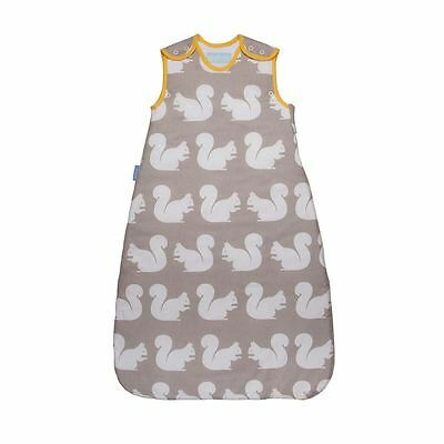 The Gro Company Kissing Squirrels Baby Grobag Sleeping Bag Sack, 18-36m 1.0 Tog