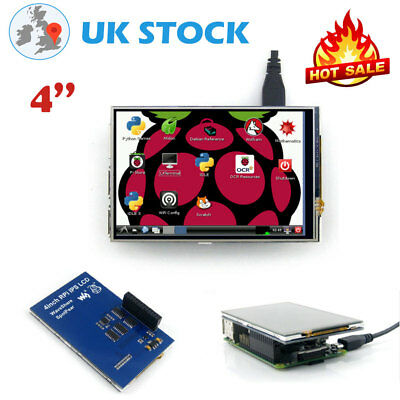 """New 4"""" RPi LCD Touch Screen Display 320×480 TFT LCD for Raspberry Pi Uk Stock"""