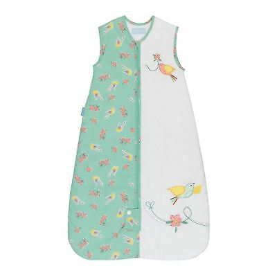 The Gro Company - Floral Flutter Baby Grobag Sleeping Bag Sack - 18-36m, 1.0 Tog