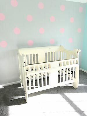 Safety-Gate Solid Wood High End Quality Crib (By Baby's Dream)
