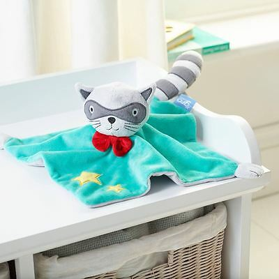 The Gro Company Baby Toddler Comforter Blanket Toy Gift - Rascal Racoon Design