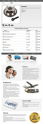 HTML5 CSS3 eBay Listing Template Inkfrog Open,PA,Auctiva Custom Templates