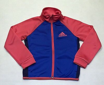 Adidas Genuine Girls Track Suit Tops