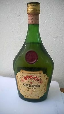 BRANDY - STOCK ORANGE BRANDY – ANNI 60 – n° 45563 sealed liqueur