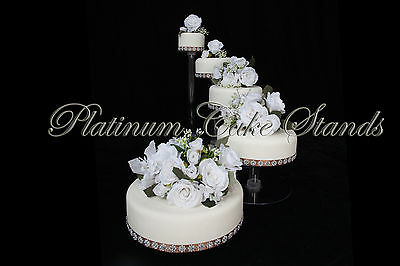 5 Tier Cascade Wedding Cake Stand (Style R500-B)