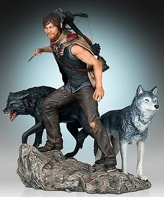Gentle Giant The Walking Dead - Daryl & The Wolves 1:8 Statue Figur Neu & Ovp