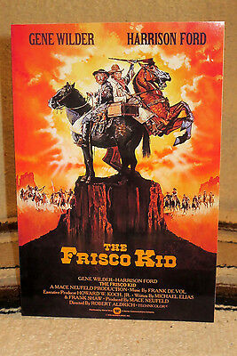 """""""The Frisco Kid"""" W-Gene Wilder & H. Ford Movie Poster Tabletop Display Standee"""