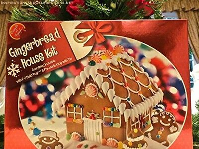 Ginger Bread House Kit Holiday Set Tool  Free Shipping
