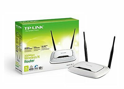 Router WiFi 300 Mbps, 4 puertos, antenas extraíbles - TP-LINK TL-WR841ND