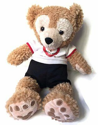 """Duffy Disney Bear Hidden Mickey Mouse Club Costume Outfit Plush Toy Stuffed 17"""""""
