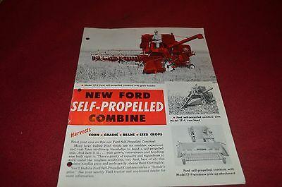Ford Tractor 17-1 Combine Dealers Brochure YABE10