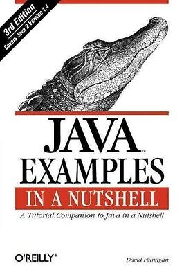 Java Examples in a Nutshell by David Flanagan Paperback Book (English)